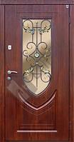 """Бронированные двери ТМ """"Саган"""" с Ковкой К-7"""