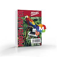 Фотобумага Magic 13х18см Glossy 220g 100л