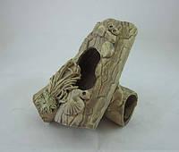 Керамика для аквариума Полено двойное, 11х12 см., фото 1
