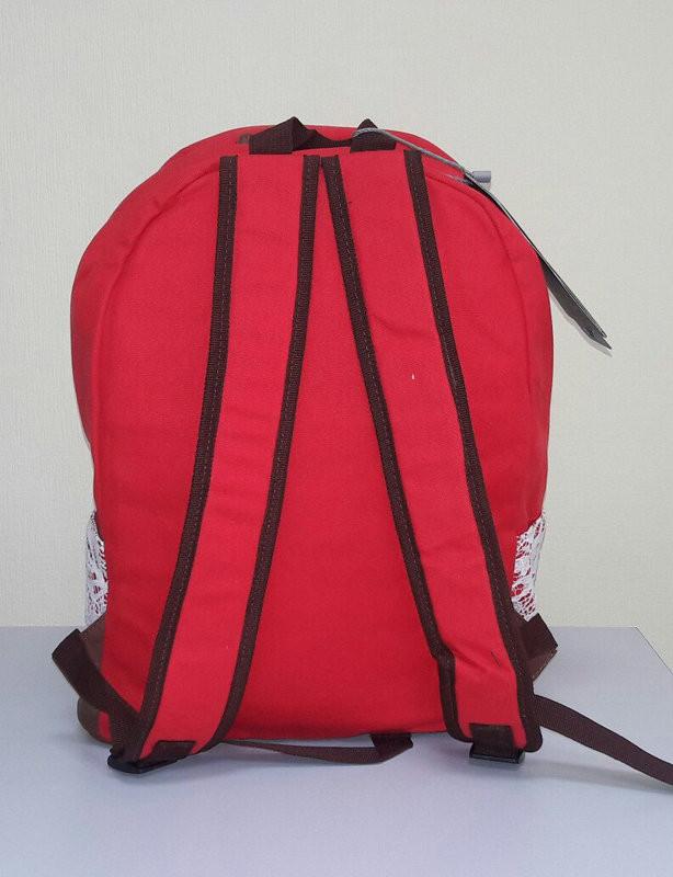 Женский рюкзак с кружевом