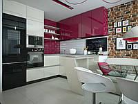 Изготовление глянцевых кухонь