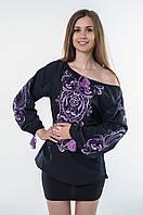 Блуза жіноча Трави бавовна, фото 1