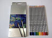 """Цветные карандаши """"Marco"""" Raffine  12 цветов, ТМ Марко"""