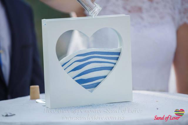 Рамка в форме сердца, фото наших молодоженов набор №16 17