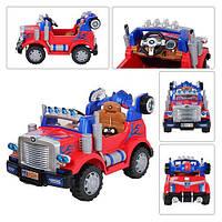 Детский электромобиль  в виде грузовика