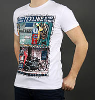 Белая футболка на летний сезон