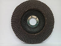 Круг лепестковый торцевой Спрут-А 125*22 P80