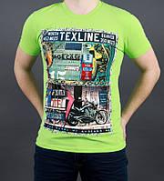 Яркая модная мужская футболка