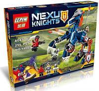 Конструктор Lepin серия Nexu Knights 14002 Ланс и его механический конь (Аналог Lego Nexo Knights 70312)
