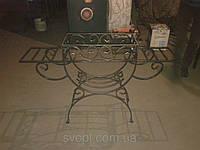 Кованный мангал с полками (толщина стенки 3 мм)