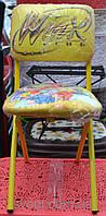 Детский складной стул со спинкой