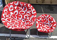 Кресло ракушка мягкое большое
