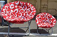 Кресло ракушка мягкое маленькое