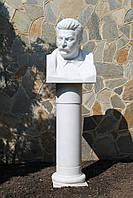 Скульптура бюст мужчины из мрамора № 48