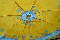 Зонт пляжный круглый 1.6м без наклона