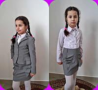 Юбка детская школьная в расцветках 11085, фото 1