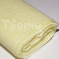 Креп-бумага 34 гр/м2 светло-желтая 8