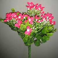 Самшит Цветущий букет 25 см, пластик, 3 цвета
