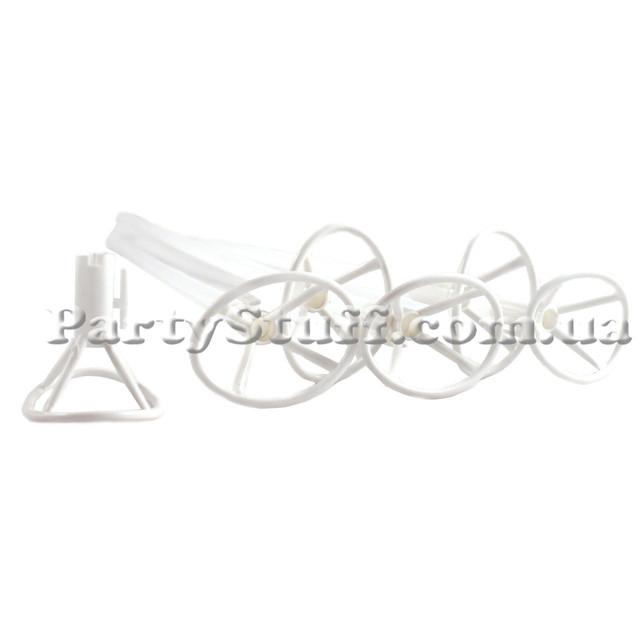 палочка для фольгированных шаров Белая