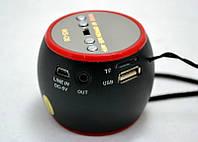 Портативная акустическая колонка WS-Q6, музыкальная колонка, колонка радиоприемник, мини колонка mp3