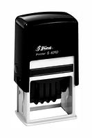 Датер пластиковый Shiny со свободным полем 24х41 мм (S-826D)