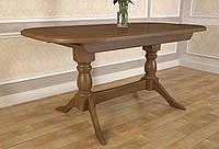 Стол обеденный Престиж раскладной деревянный , фото 1