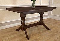 Стол обеденный Престиж раскладной деревянный удлиненный, фото 1