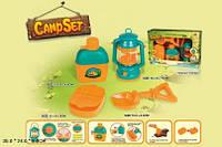 """Игровой набор CAMP SET """"Юный турист"""" (лампа, фляжка с кружкой, аптечка, лопатка), FDE820"""