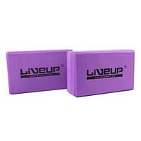 Блок для йоги EVA BRICK  LS3233A-p