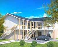 Строительство мини-гостиниц из sip-панелей Экопан