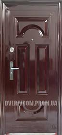 Наружные входные двери ААА Лантан 001 автолак вишня