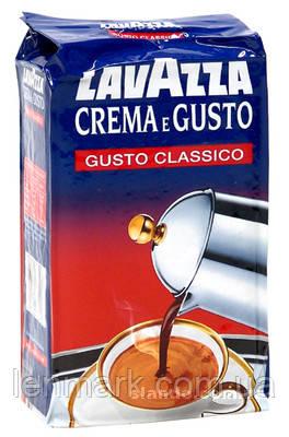 Lavazza Crema e Gusto GUSTO CLASSICO (в кольоровий уп.) Кава мелена 250г