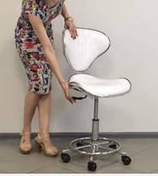 851 стульчик мастера со спинкой