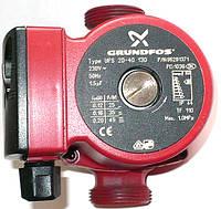 Насос циркуляционный Grundfos UPS 25-40 130 с гайками (без кабеля)