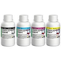 Комплект чернил для Canon ColorWay CW520, CW521, 4 x 200 ml, BK/C/M/Y