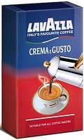 Кофе молотый Lavazza Crema e Gusto GUSTO CLASSICO (експорт, в цветной уп.) 250г