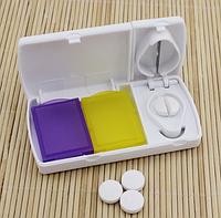 Контейнер для таблеток с разделителем на дозы