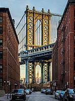 Фотообои флизелиновые на стену 184х248 см 2 листа: Бруклин NY. Komar XXL2-013