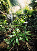 Фотообои флизелиновые на стену 184х248 см 2 листа: Водопад Дух. Komar XXL2-527