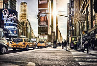Фотообои флизелиновые на стену 368х248 см 4 листа: Таймс Сквер NY. Komar XXL4-008