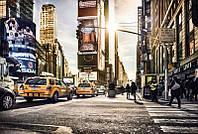 Флизелиновые фотообои 368x248 см. Таймс Сквер NY. Komar XXL4-008