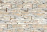 Фотообои флизелиновые на стену 368х248 см 4 листа: Древесина потертая. Komar XXL4-014