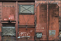 Флизелиновые фотообои 368x248 см. Вагон. Komar XXL4-001