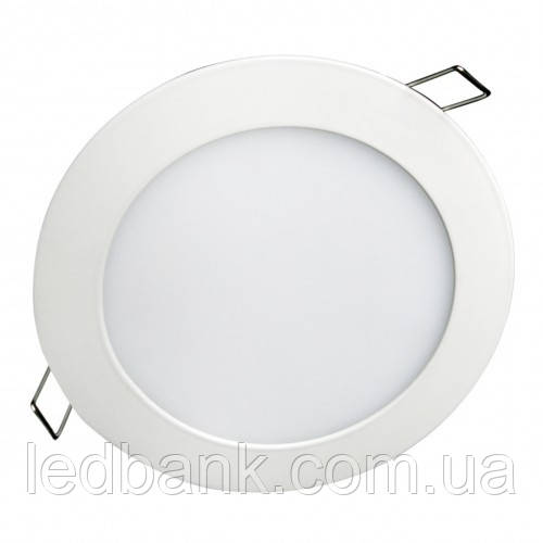 Светодиодный светильник 6W DownLight встраиваемый теплый белый