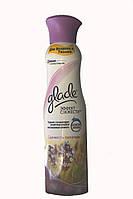 Освежитель для воздуха и тканей Glade Эффект свежести Свежесть лаванды 275  мл