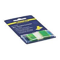 Закладки Buromax пластиковые 45x25мм 50 листов POP-UP NEON (зеленый)