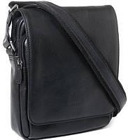 84f65a6eb828 Кожаная мужская сумка через плечо Katana k39112-1, черный