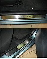 Накладки на пороги MITSUBISHI LANCER IX 2000-2007 4шт. premium