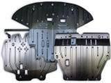 Hyundai Accent 2011-on защита картера двигателя Полигон Авто