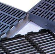 Пластиковая решетка 600*400 черная